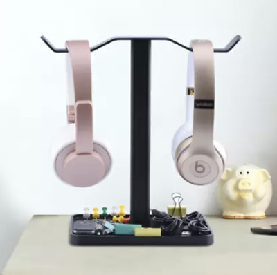 AU39.99 • Buy Avantree Super Stable Aluminium Desk Headphone Stand Hanger With Cable Holder