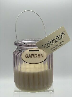 Landon Tyler Fragranced Candle (Beautiful Item Ready For Your Garden) • 5.99£
