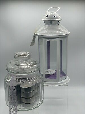 Landon Tyler Handmade Lantern With 20 Candles In Their Own Jar. A Beautiful Item • 5.99£