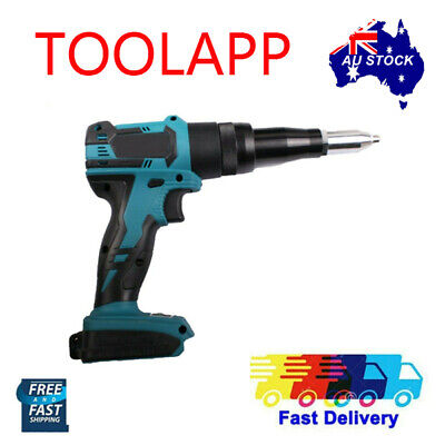 AU169.99 • Buy Brushess Cordless Blind Pop Rivet Gun Bare Tool For Makita 18V Li-ion Battery