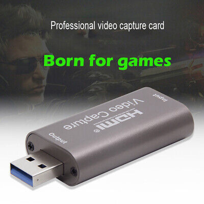 Portable USB 3.0 HDMI Capture Card Video Recording Box For Game DVD Camera Live • 10.47£