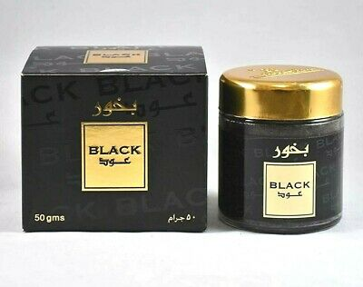 Black Oud Exotic Arabian Oud Bakhoor For Incense Burners 50g By Banafa • 14.99£