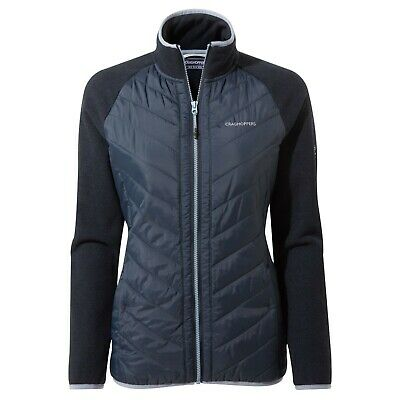 Craghoppers Womens Raissa Navy Hybrid Jacket RRP £80 • 32.99£