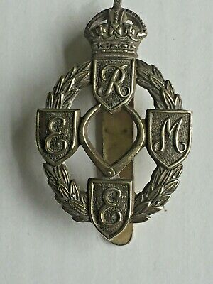 Ww2 Royal Electrical And Mechanical Engineers (r.e.m.e) Cap Badge • 19.99£