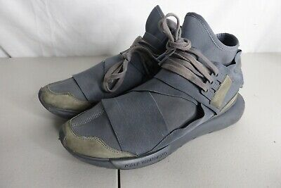 AU150 • Buy Adidas Y-3 Yohji Yamamoto Qasa High  Vista Grey  Men's Size US 9 - BB4734 USED