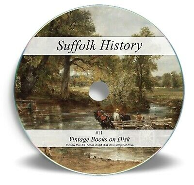 165 Rare Books On DVD - Suffolk History Genealogy - Directory Family Register 11 • 3.90£