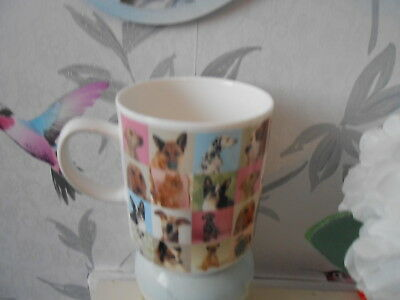 GORGEOUS CUTE Bone China MUG London ALL BREEDS DOGS CATSEYE FREE POSTAGE • 6.99£