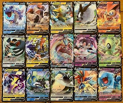 AU23.95 • Buy 100 Pokemon Cards - Guaranteed 1 Ultra Rare V Or GX + 11 Rares & Reverse Holos