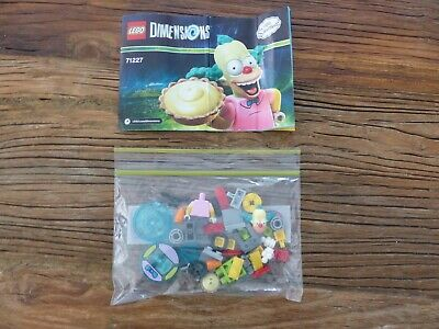AU18.50 • Buy LEGO Dimensions The Simpsons Krusty The Clown Fun Pack 71227 Complete (No Box)!