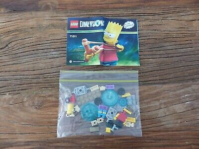 AU17.50 • Buy LEGO Dimensions The Simpsons Bart Fun Pack 71211 - Complete (No Box)!