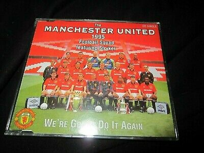 (-0-) Manchester United Stryker We're Gonna Do It CD SINGLE UK TRUSTED SELLER • 1.95£