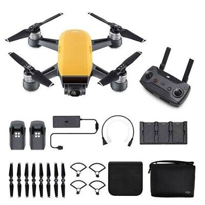 AU336.50 • Buy DJI Spark Yellow Flymore Combo Drone