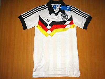 NEW DEUTSCHLAND GERMANY RETRO 1988 90 Shirt Trikot ADIDAS FOOTBALL XS • 49.99£