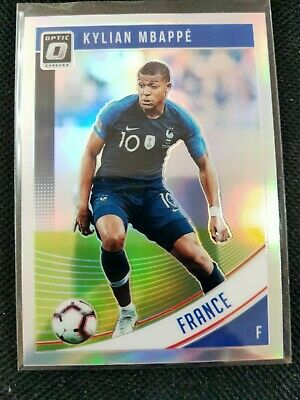 $ CDN115.09 • Buy Kylian Mbappe 2018 Panini Donruss Optic Prizm Holo Silver #132 RC Rookie France