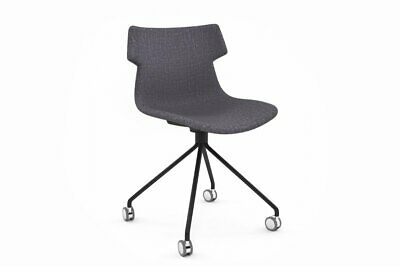 AU283 • Buy Wave Fabric Chair Mobile Base - Black