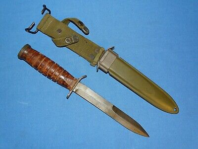 $ CDN401.46 • Buy Minty WWII M3 M-3 Guard Marked UTICA Fighting Knife (#6)