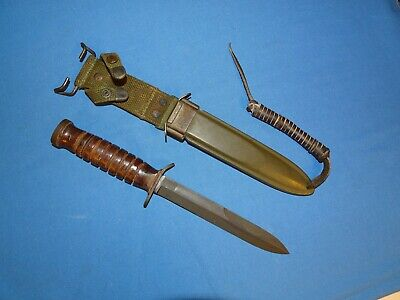 $ CDN401.46 • Buy Minty WWII M3 M-3 Guard Marked CASE Fighting Knife (#8)