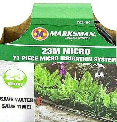 71 Piece 23 Metre Automatic Micro Irrigation Drip Watering System New • 6.85£
