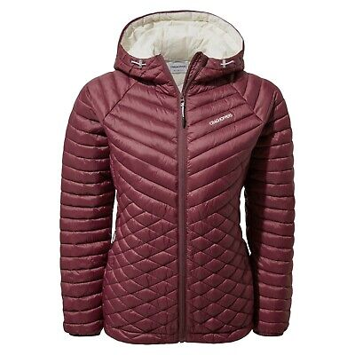 Craghoppers Womens Expolite Packable Hooded Jacket Wildberry RRP £100 • 54.99£