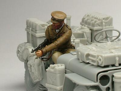 1/35 Scale Resin Model Kit – Paddy Manye Jeep Figure • 14.99£
