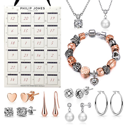 Jewellery Advent Calendar Created With Swarovski® Crystals • 39.99£
