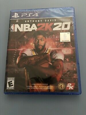 $ CDN26.59 • Buy Sony PlayStation 4 NBA 2K20 PS4  Basketball Game -FACTORY SEALED BRAND NEW