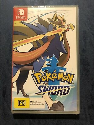 AU31 • Buy Nintendo Switch Pokemon Sword Sealed Game