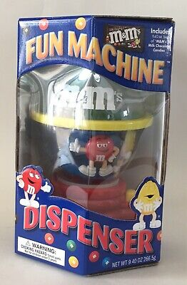 NIB M & M's Fun Machine Dispenser Candy Chocolate Official Collectible No Candy • 15.46£