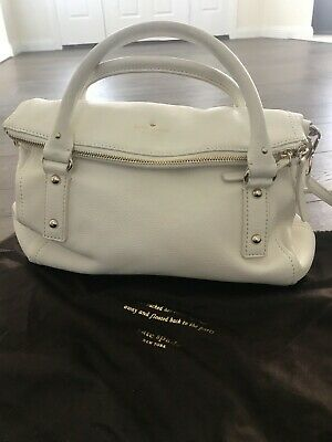 AU10.50 • Buy BRAND NEW Without Tags KATE SPADE White Leather Handbag
