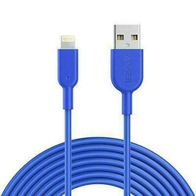 AU36 • Buy Anker PowerLine II Blue USB To Lightning Charging Cable IPads IPhones 3 Meters