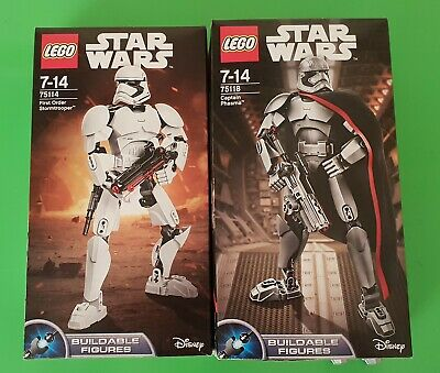 AU80 • Buy LEGO Star Wars 75114 + 75118 - First Order Stormtrooper / Captain Phasma - Used.