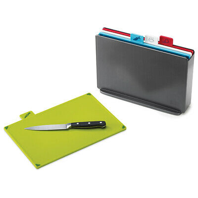 AU76 • Buy NEW Joseph Joseph Index Chopping Board Graphite Set 5pce