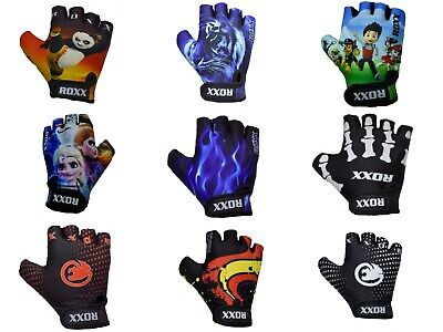 Kids Gloves Boys Girls Children Padded Cycling Scooter Bmx Bike Cycle Bicycle   • 5.99£