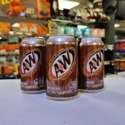 A&W Root Beer 12oz Cans X 3 (USA Import) • 6.99£