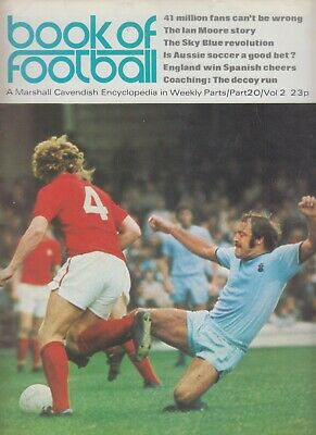 Marshall Cavendish Encyclopedia - Book Of Football - Part 20 / Vol 2. • 2.50£
