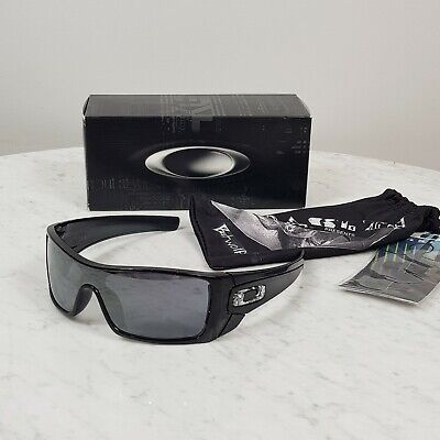 AU275 • Buy OAKLEY Batwolf Black Ink / Black Iridium Lens Sunglasses (009101-01) Genuine NEW