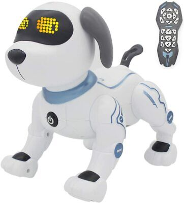 £27.99 • Buy Remote Control Interactive Robot Dog Dancing Toys Stunt Puppy Electronic Kids UK