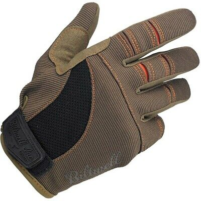 AU39.95 • Buy Biltwell MX Moto Brown/Orange Adventure Off Road Gloves
