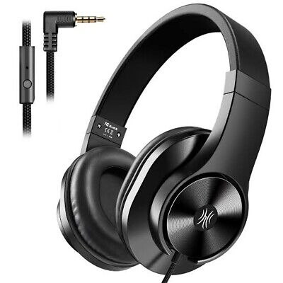 AU34.99 • Buy Oneodio T3 Wired Headphones Over Ear Headset W/ Microphone Stereo Bass Earphone