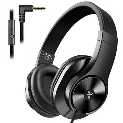 AU29.99 • Buy Oneodio T3 Wired Headphones Over Ear Headset W/ Microphone Stereo Bass Earphone
