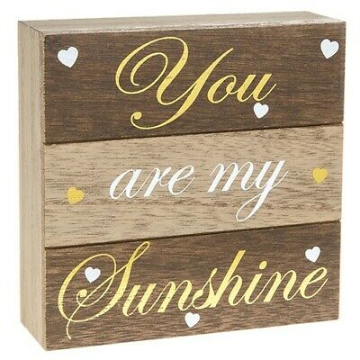 Small Wooden Plaque - You Are My Sunshine • 5.99£