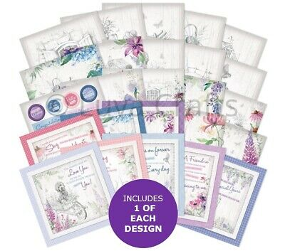 Hunkydory The Square Little Book Of An Artist's Garden  5 X5  Sample Pack 25x • 2.99£