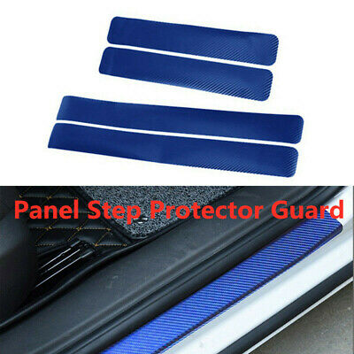 $ CDN9.30 • Buy 4D Carbon Fiber Car Scuff Plate Door Sill Cover Panel Step Protector Accessories