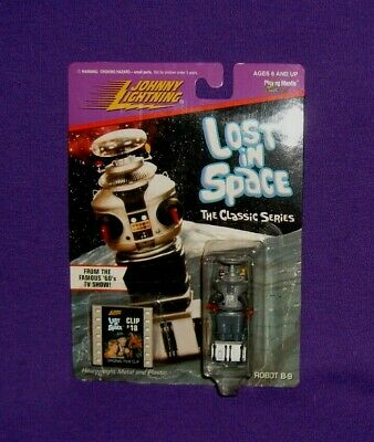 $ CDN30.08 • Buy 1998 Johnny Lightning Lost In Space Classic Series Robot B-9 With #18 Film Clip