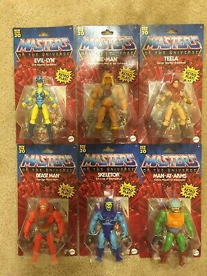 $149.99 • Buy Masters Of The Universe Origins Walmart Battle Figure SET Of 6