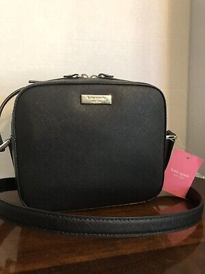 $ CDN132.71 • Buy Kate Spade Newbury Lane Cammie Camera Bag Crossbody Black Leather NWT