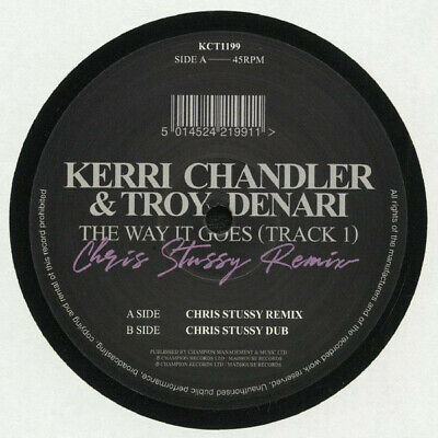 Kerri Chandler & Troy Denari   The Way It Goes   New Uk 12  Mad House Records • 9.49£