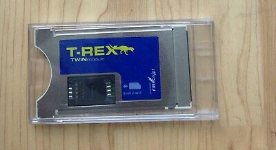 T-Rex Dragon Twin Card Programmable CAM Firecrypt Conditional Access Module  • 70£