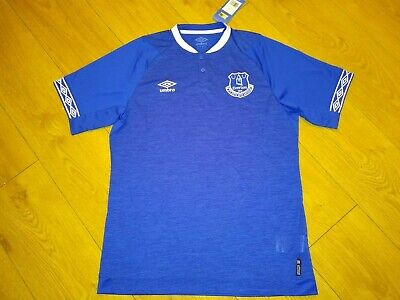 New With Tags Everton FC Home Shirt Top 18/19 Jersey Adult Large L T-Shirt • 9.99£