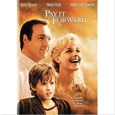 AU7.50 • Buy Pay It Forward Dvd Kevin Spacey & Helen Hunt Free Postage Within Australia
